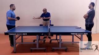 قانون لعبة تنس الطاولة الجزء الاول الكابتن نبيل المأمون الحكم الدولى مع الكابتن رضا ثابت Youtube