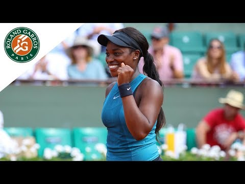 Sloane Stephens vs Daria Kasatkina - Quarter-Final Highlights I Roland-Garros 2018