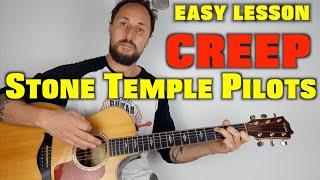 Stone Temple Pilots Creep Acoustic Guitar Lesson