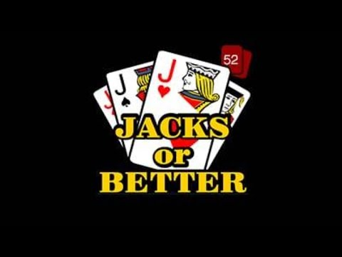 Bovada - Jacks or Better 52 Hands - High Limit Video Poker *Live Stream*