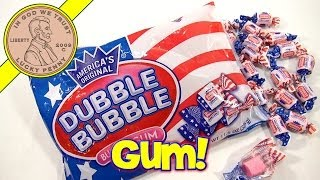 Dubble Bubble - Red White Blue American Flag Gum Candy