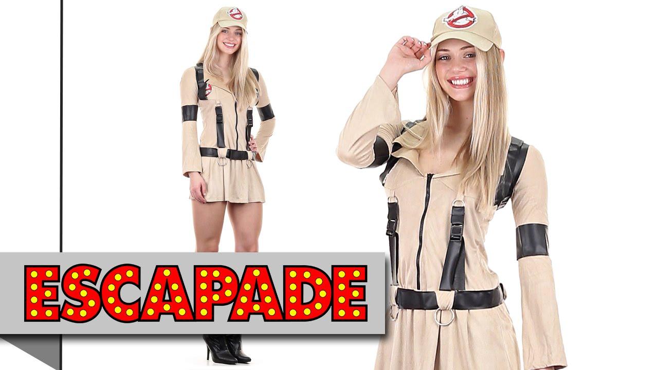 Sexy Ghostbusters Costume Halloween Fancy Dress Ideas Youtube