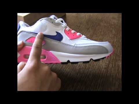 Laser Pink Nike Air Max 90 NIKE AIR MAX 90 LASER PINK/CONCORD | Review - YouTube