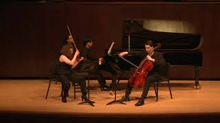 Shostakovich Piano Trio No 1 Op. 8 Hannah Tarley (Violin), Mark Prihodko (Cello), Derek Wang (Piano)