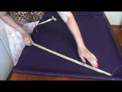 Как сшить юбку клеш