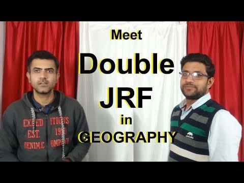 Meet UGC NET Geography double JRF - Atul Kumar Singh