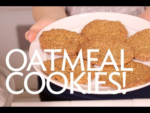 How To Make Gluten And Dairy Free Oatmeal Cookies Recipe | Broke But Bougie