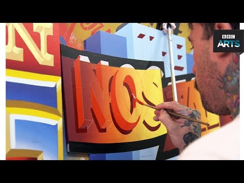 Hands On: Signwriter Ciaran Glöbel - BBC Arts