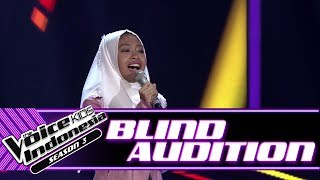 Rosalie - I Don't Want Miss A Thing | Blind Auditions | The Voice Kids Indonesia Season 3 GTV 2018