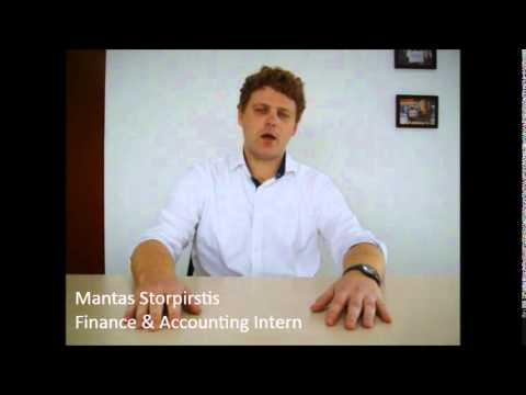 Meet Mantas - CRCC Asia 2014 Finance & Accounting Intern in Shenzhen