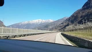 Heidi, Arriving to the Italian Alps