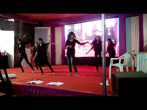 Stop education corruption theme dance,second price winner