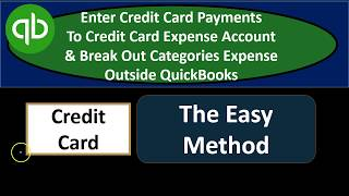 Recording Credit Card Payments on a Cash Basis in QuickBooks