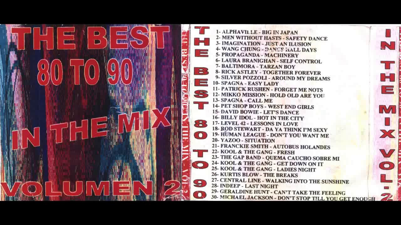 The best 80's to 90's - In The Mix (Non-Stop Megamix) [LINK IN THE VIDEO  DESCRIPTION] - YouTube