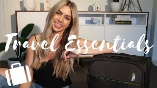HOW TO TRAVEL WITH CARRY ON ONLY // Packing tips & Travel Essentials