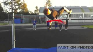 How to high jump for beginners
