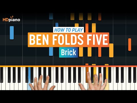 """How to Play """"Brick"""" by Ben Folds Five on Piano with Synthesia & HDpiano (Part 1)"""