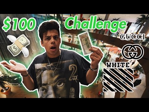 $100 HYPEBEAST Challenge in WORLDS BIGGEST SHOPPING MALL!