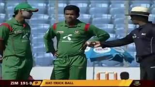 abdur razzaq hatrick 2nd bowler