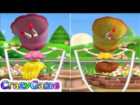Mario Party 9 Garden Battle - Shy Guy vs Peach vs Daisy Gameplay (Master CPU)
