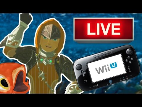 Zelda: Breath of the Wild (Wii U) LIVE | Beating GANON with 3 HEARTS!! ( And Naked ( ͡° ͜ʖ ͡°) )