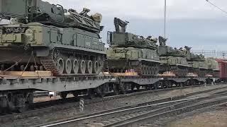 Зенитно-ракетная бригада 41-й общевойсковой армии усилена новыми ЗРК «БукМ3»