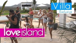Islanders show off their moves in epic dance circle | Love Island Australia 2018