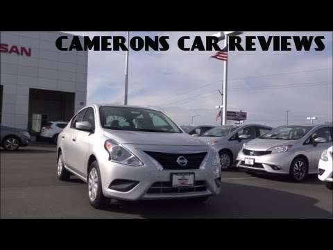 2016 Nissan Versa SV Review: A Simple Car? | Camerons Car Reviews