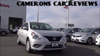 2016 Nissan Versa SV Review: A Simple Car? | Camerons Car Reviews