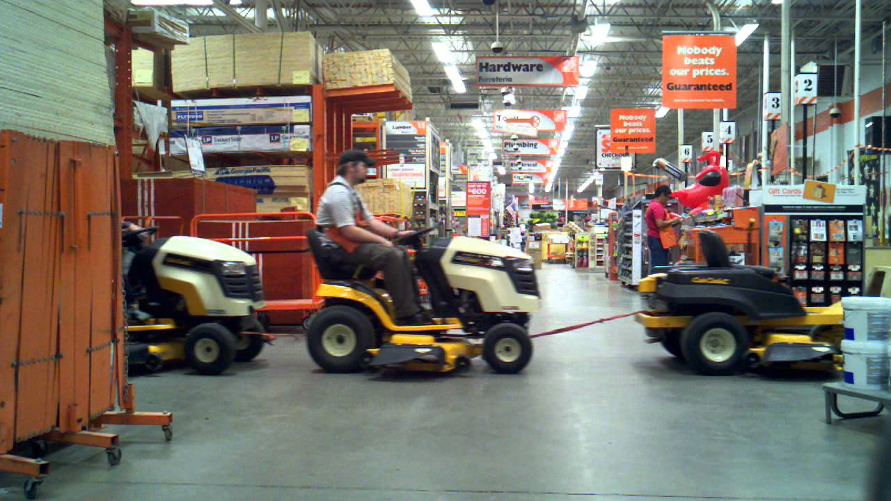 Lawn Mowers Home Depot