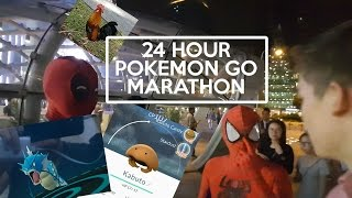 24HOUR POKEMON GO MARATHON SINGAPORE ( Pokemon locations and tips in description)