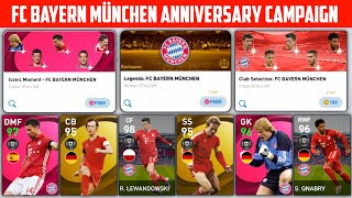 Fc Bayern München Anniversary Celebration Campaign Free Legends \u0026  Conic Packs Pes2021
