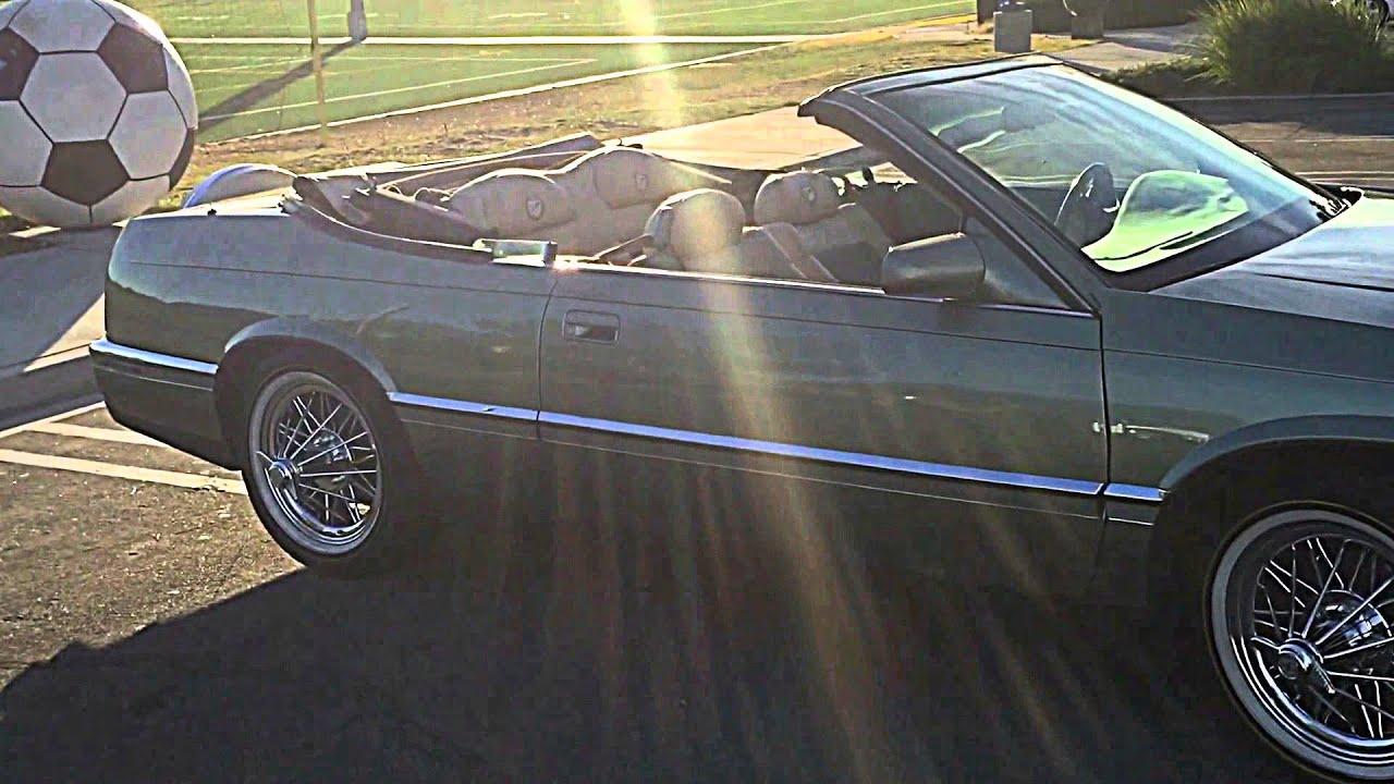 1994 Cadillac Eldorado Convertible (Swangas, Slab) Texan Wire Wheel ...