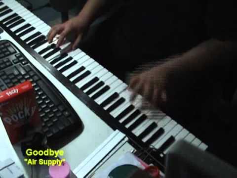 Goodbye - air supply Piano