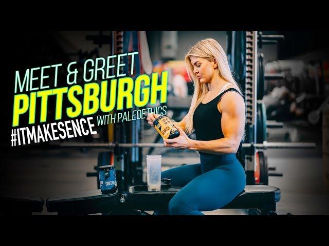 Brooke Ence - Meet & Greet Pittsburgh with Paleoethics