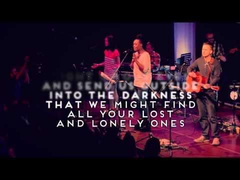 River Run High  - Official Lyric Video - Live Vineyard Worship [taken from Waterfalls]