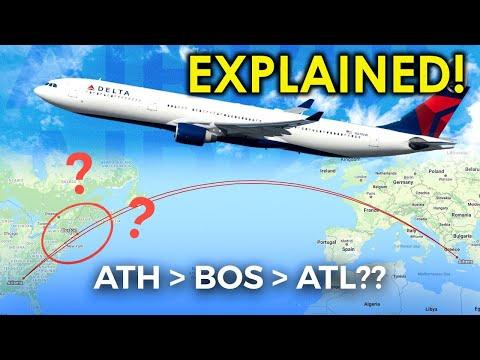 Why Delta's Athens-Atlanta Flight Had A Boston Stopover EXPLAINED