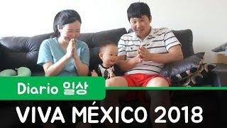 [Diario] Viva México! Cómo pasamos el día de la independencia en México l 멕시코 독립 기념일 l Mamá Coreana