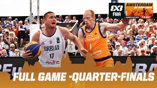 Serbia vs. Netherlands - Quarter-Finals - Full Game - FIBA 3x3 Europe Cup 2017 thumbnail
