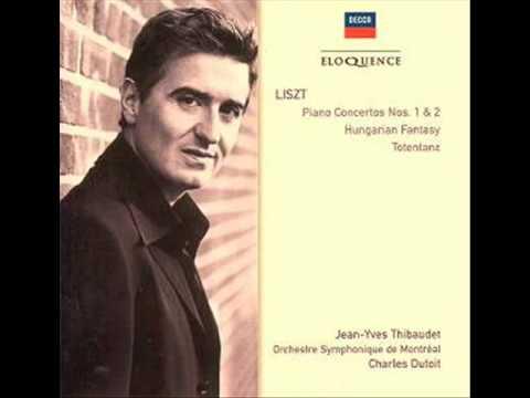 F. Liszt - J.-Y. Thibaudet - Totentanz S. 126 - Orchestre Symphonique de Montréal - Ch. Dutoit - 1