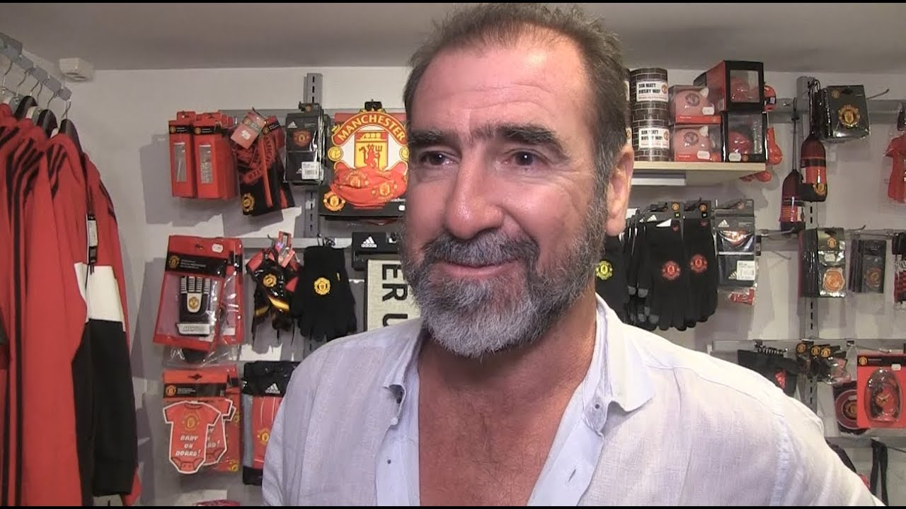 Subscribe to the manchester united channel here: Manchester United-legend Cantona in Lyngdal - YouTube