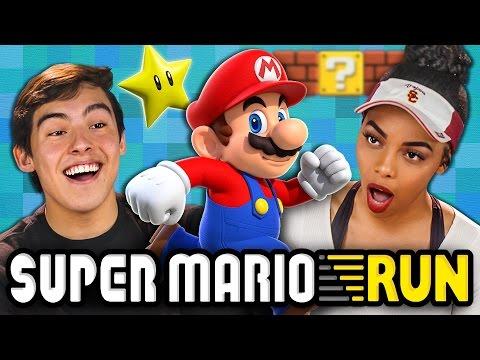 SUPER MARIO RUN (Teens React: Gaming)