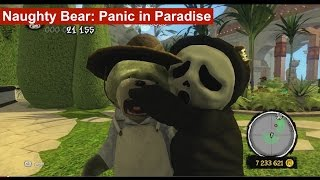 Naughty Bear: Panic in Paradise - NO MERCY - Kill EVERYONE ON A SIGHT - NO GAME RULES