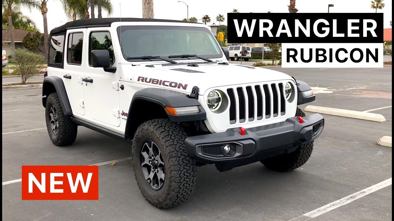 White Jeep Rubicon >> 2018 Jeep Wrangler Rubicon Unlimited WALKAROUND - YouTube