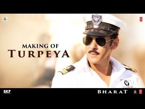 'Turpeya' Song Making - Bharat | Salman Khan, Nora Fatehi | Vishal & Shekhar ft. Sukhwinder Singh
