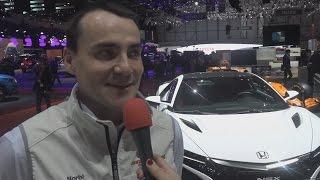 AFM - Michelisz Norbert a Genfi Autószalonon