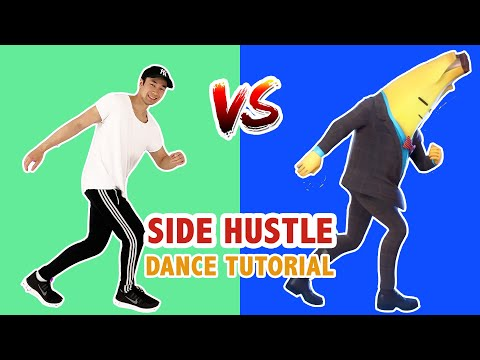 Fortnite Side Hustle (Dance Tutorial) | Easy Fortnite Dance