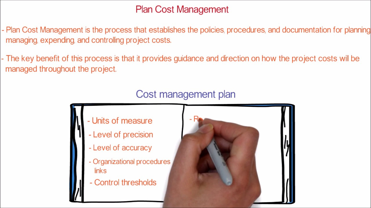What Is Cost Management Plan Process In Project