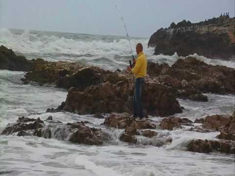 06/18/2010 Fishing at Pescadero State Beach