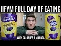 IIFYM FULL DAY OF EATING **Includes CALORIES & MACROS**